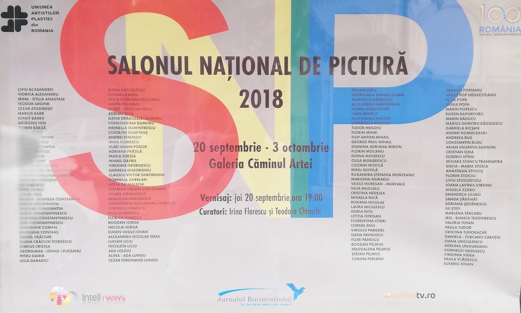 Salonul Național de Pictură 2018