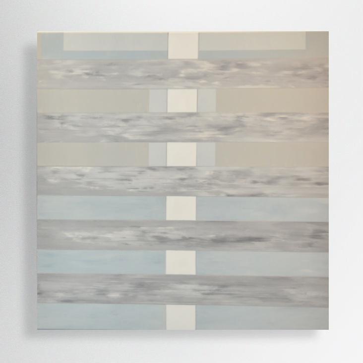 oil and acrylic on canvas, 100/100 cm