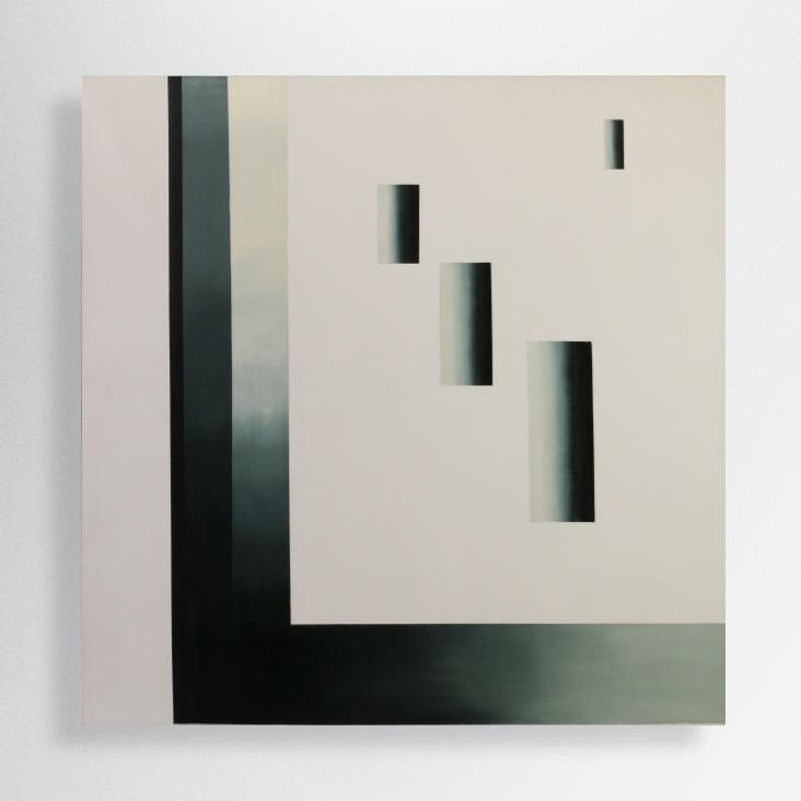 oil on canvas, 100/100 cm