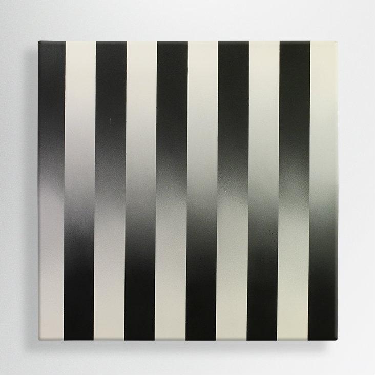 spray paint on canvas, 100/100 cm