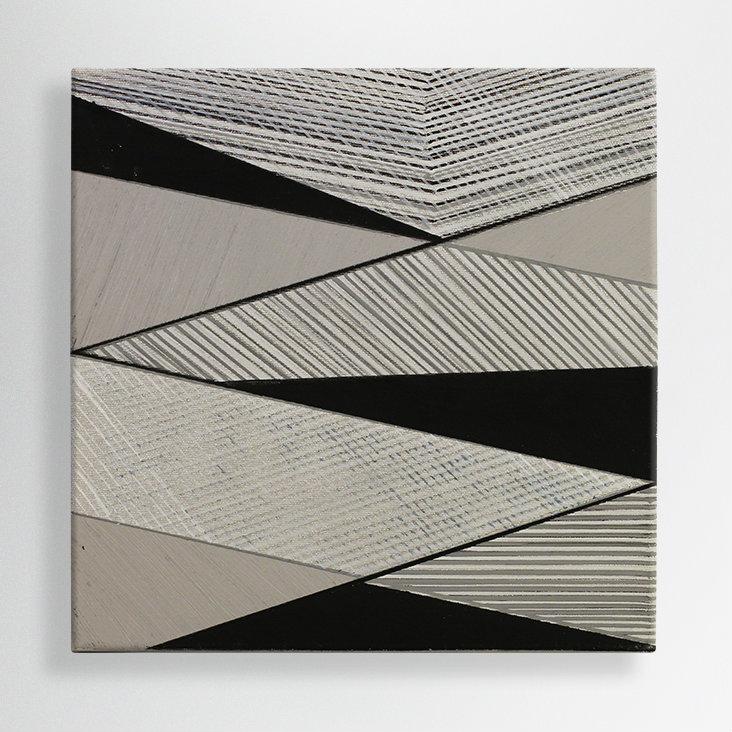 oil+ acrilic+ marker on canvas, 30/30 cm