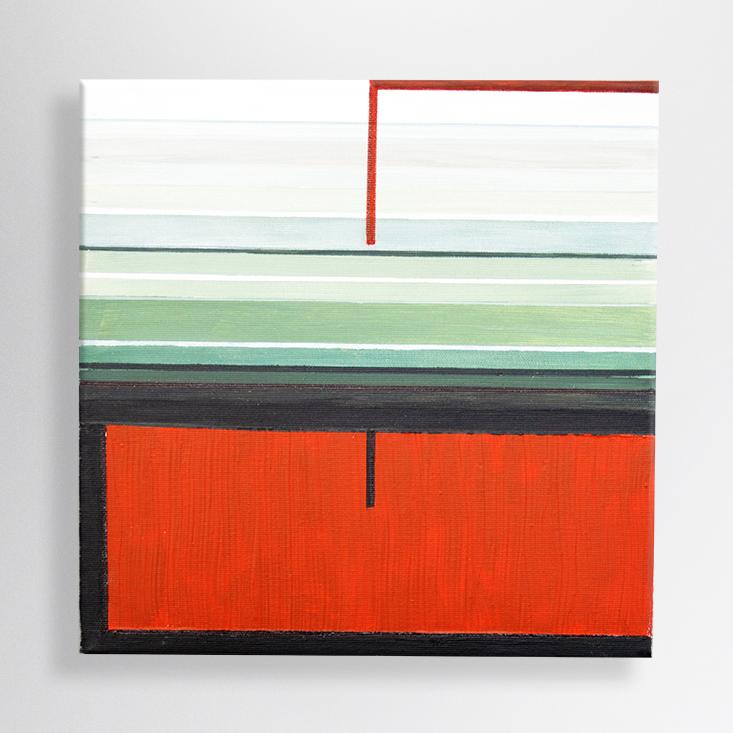 acrylic on canvas, 30/30 cm