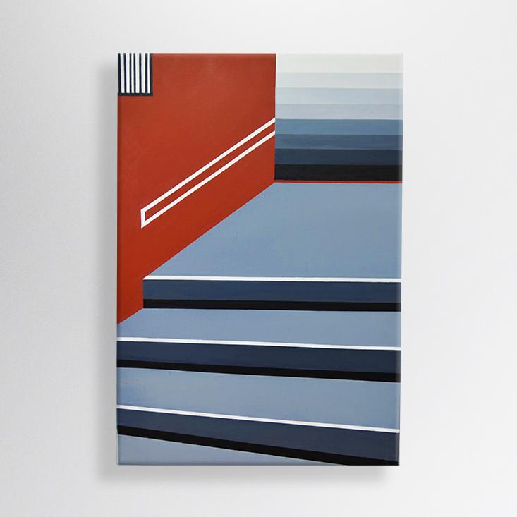 oil on canvas, 70/100 cm