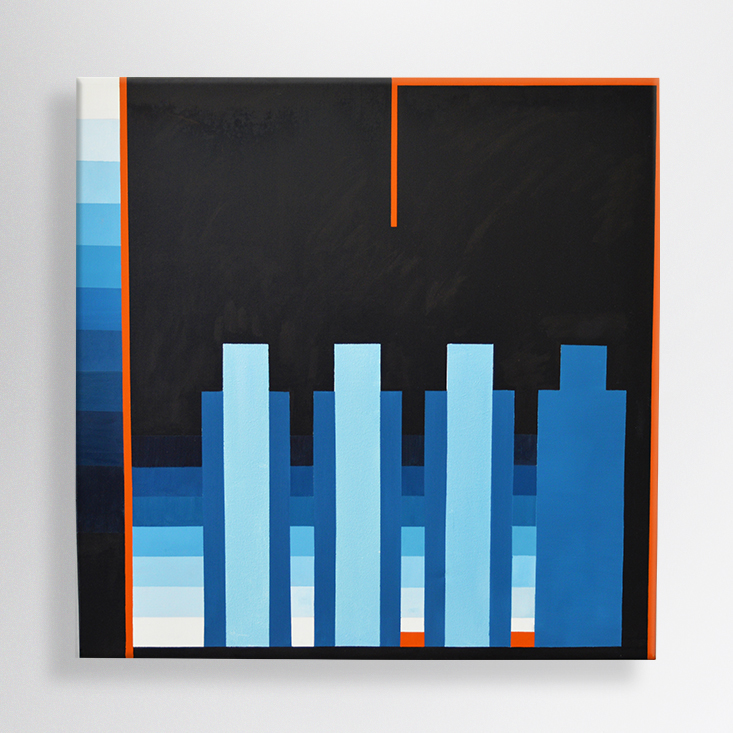 oil on canvas, 100/100cm