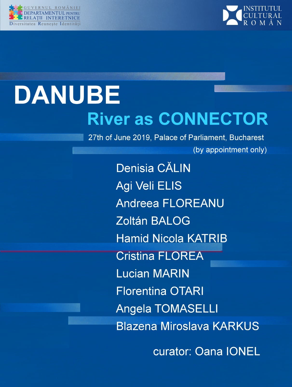DANUBE River as Connector, group show