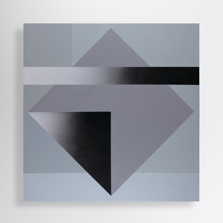100/70 cm, acrylic, oil, spray paint and marker on canvas
